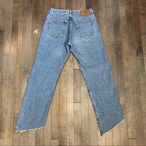 Calvin Klein Jeans - Vintage Calvin Klein Custom Cropped Jeans!!!